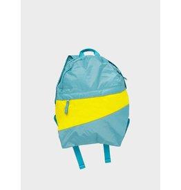 Susan Bijl Foldable Backpack Concept & Fluo Yellow - Medium: 40 x 25 x 10 cm