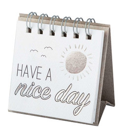 Raeder Small message - Have a nice day