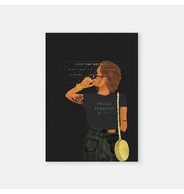 ATWS Notitieboekje Proud Feminist - 14,8 x 21 cm