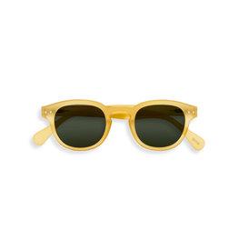 Izipizi Zonnebril - #C - Yellow Honey - Green Lenses