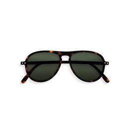 Izipizi Zonnebril - #I - Tortoise Green Lenses