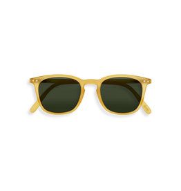 Izipizi Zonnebril - #E - Yellow Honey, Green lenses