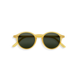 Izipizi Zonnebril - #D - Yellow Honey, Green Lenses