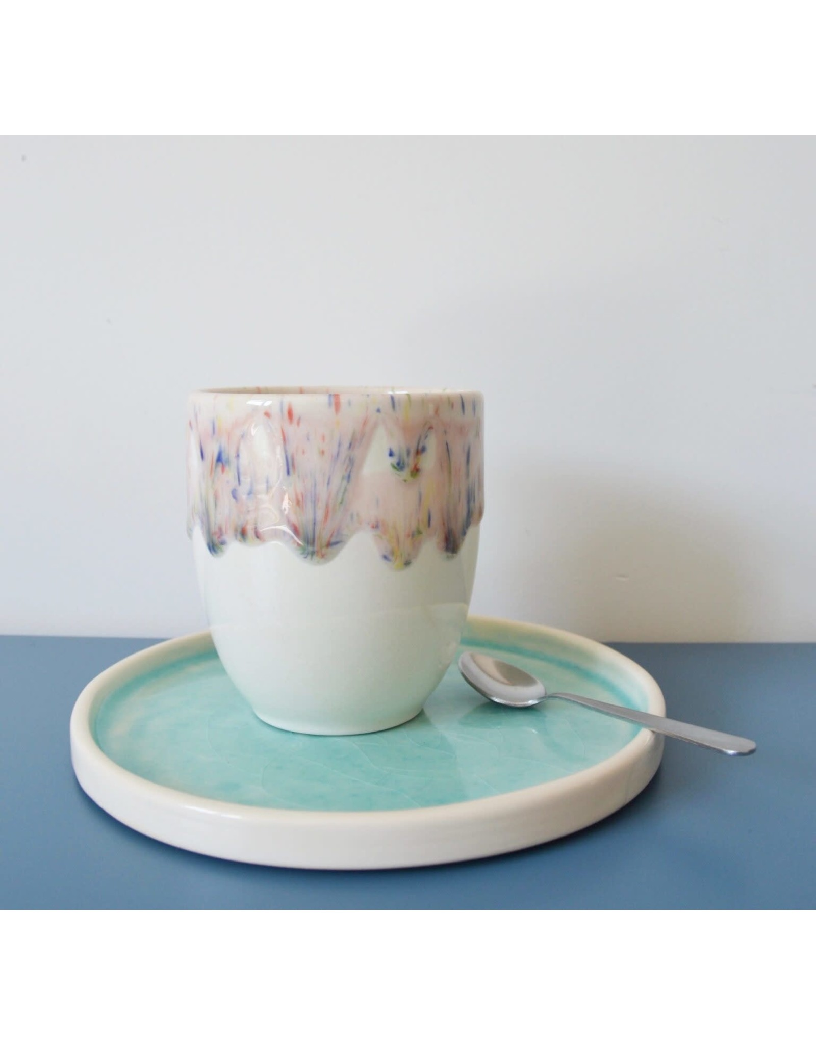 Kesemy design Cup, Rustig aan - 350ml - Ø 9 x 10,5 cm
