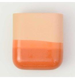 Studio Harm & Elke Dip wandvaas | Kort | Oranje 054