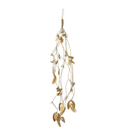 Bloomingville Hanger Mistletoe, Sherko - Messing, Metaal - L 63,5 cm