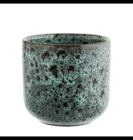 Madam Stolz Cup - Licht groen / Zwart - Ø 8 x 8 cm
