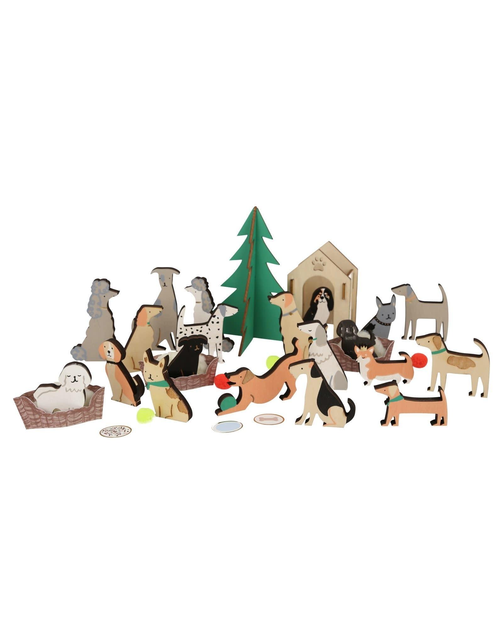 Meri Meri Adventskalender - Honden