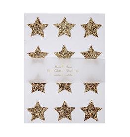 Meri Meri Stickers - Gouden Glitter Sterren