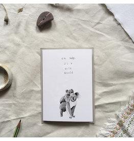 Dear Prudence Wenskaart - Anna - Dubbele kaart + Envelop - 10 x 15 cm