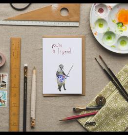 Dear Prudence Wenskaart - Arthur, Good Luck - Dubbele kaart + Envelop -  10 x 15 cm