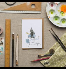 Dear Prudence Wenskaart - Barnaby, Party time! - Dubbele kaart + Envelop - 10 x15 cm