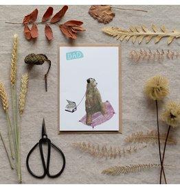 Dear Prudence Wenskaart - Pete, Father's Day - Dubbele kaart + Envelop - 10 x 15 cm