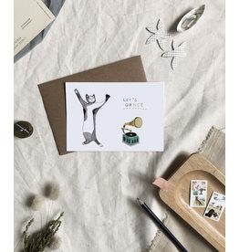 Dear Prudence Wenskaart - Flossy - Dubbele kaart + Envelop - 10 x 15 cm