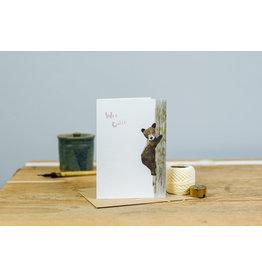 Dear Prudence Wenskaart - Wee Cutie - Dubbele kaart + Envelop - 10 x 15 cm