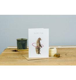 Dear Prudence Wenskaart - Henry, Have fun - Dubbele kaart + Envelop - 10 x 15 cm