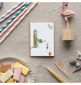 Dear Prudence Wenskaart - Nora, All grown up! - Dubbele kaart + Envelop - 10 x 15 cm
