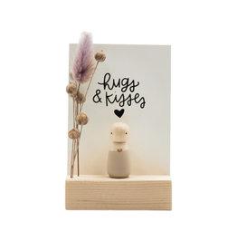 "Sweet Petite Jolie Cadeaudoosje ""Hugs & Kisses"""