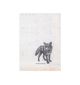 Nakke Van Loo Wenskaart - ik wolf je graag - Postkaart + Melkomslag