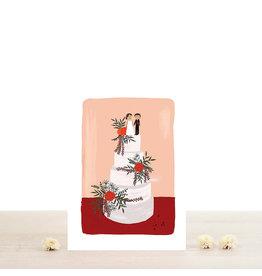 Atelier Bobbie Wenskaart Morgane - Dubbele kaart + Enveloppe - A6