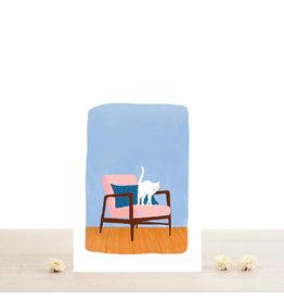 Atelier Bobbie Wenskaart Félix - Dubbele kaart + Enveloppe - A6