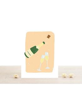 Atelier Bobbie Wenskaart Eudes - Dubbele kaart + Enveloppe - A6