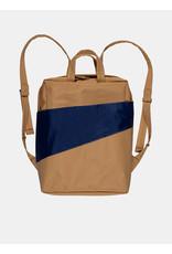 Susan Bijl Susan Bijl Backpack, Camel & Navy