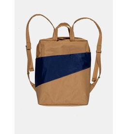 Susan Bijl Backpack, Camel & Navy