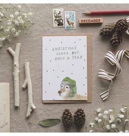 Dear Prudence Wenskaart- Kerst - Ross - Dubbele kaart + Envelop - 10 x 15 cm