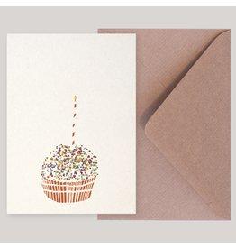 Souci-illustration Wenskaart - Muffin - Postkaart + Envelope - 10 x 15cm