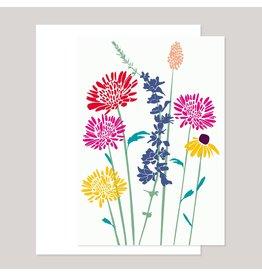 Souci-illustration Wenskaart - De zomer - Dubbele kaart + Envelope - 10 x 15cm