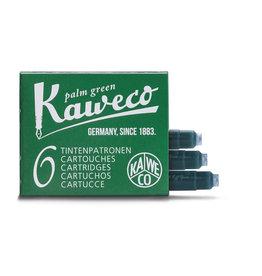 Kaweco Kaweco Ink cartridges - Palm Green - 6-pack