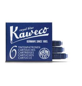 Kaweco Kaweco Ink cartridges - Royal Blue - 6-pack