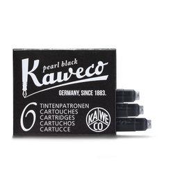Kaweco Kaweco Ink cartridges - Pearl Black - 6-pack