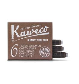 Kaweco Kaweco Ink cartridges -  Caramel Brown - 6-pack