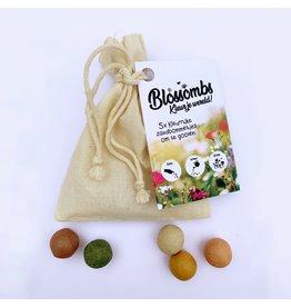 Blossombs Bloembommetjes zakje - met 8 zaadbommetjes