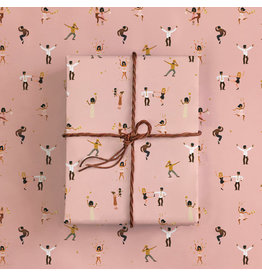 ATWS Gift wrapping - Dancers - 1 sheets - 500 x 700mm