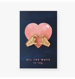 ATWS Pin -  Hands of Love