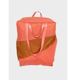 Susan Bijl The Stash Bag XL, Salmon & Sample - 37 x 56 x 26 cm