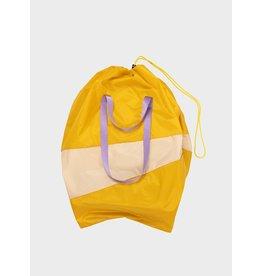 Susan Bijl The Trash Bag XL, Moutarde & Liu - 37 x 77 x 33 cm