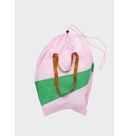 Susan Bijl The Trash Bag XL, Pale Pink & Wena - 37 x 77 x 33 cm