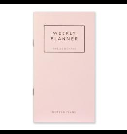 Leo La Douce Weekly Planner - Rose