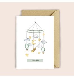 Luvter Paper Co. Wenskaart - Mobile - Dubbele kaart + Enveloppe