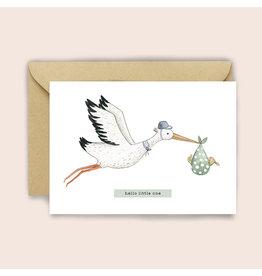 Luvter Paper Co. Wenskaart - Bundle of Joy - Dubbele kaart + Enveloppe