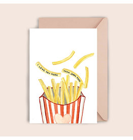 Luvter Paper Co. Wenskaart - Fries - Dubbele kaart + Enveloppe
