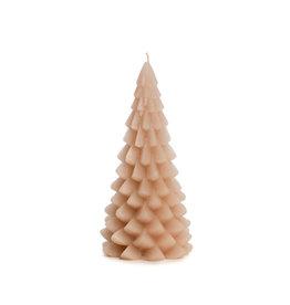 Rustik Lys Kaars - Kerstboom  - Skin - 10 x 20 cm - Burning time +/- 42h
