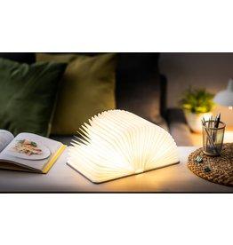Gingko Smart Book Light (Linnen) - Blush Pink - 9 x 12,2 x 2,5 cm