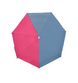 Paraplu Jacqueline - Stone Blue / Pink