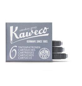 Kaweco Kaweco Ink cartridges - Smokey Grey - 6-pack