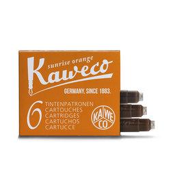 Kaweco Kaweco Ink cartridges - Sunrise Orange- 6-pack